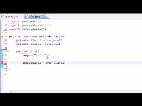 Java Programlama Eğitimi - 74 - Fare Olayları