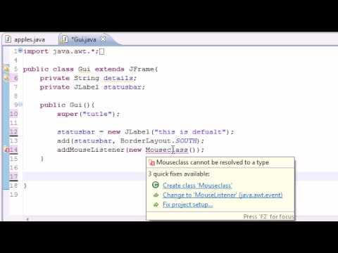 Java Eğitimi - 77 - Adaptör Sınıfları Programlama