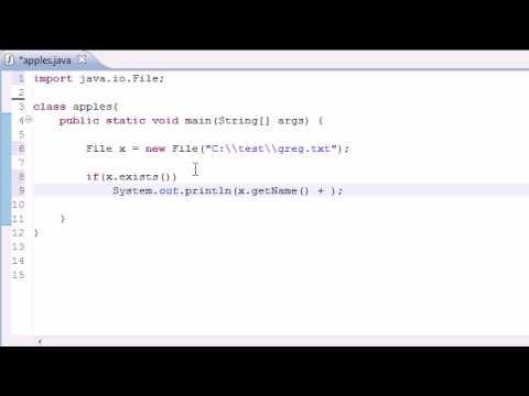 Java Programlama Eğitimi - 78 - Dosyası Sınıfı