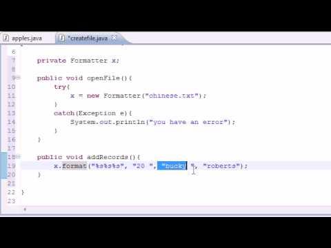 Java Programlama Eğitimi - 80 - Dosyalara Yazma