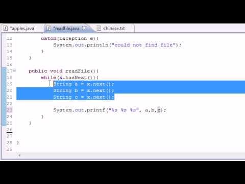 Java Programlama Eğitimi - 81 - Dosyalarından Okuma