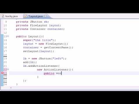 Java Programlama Eğitimi - 83 - Flowlayout