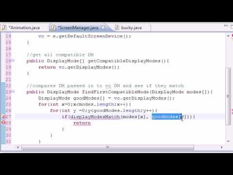 Java Oyun Geliştirme - 15 - Uyumlu Modları Bulma
