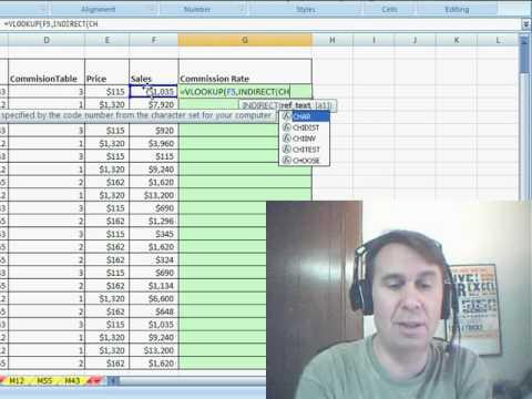 Bay Excel Ve Excelisfun Hile 40: 3 Farklı Arama Tabloları İçin Düşeyara (3 Table_Arrays)