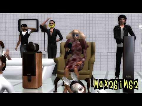Lady Gaga - Bad Romance (Sims 2) Hd