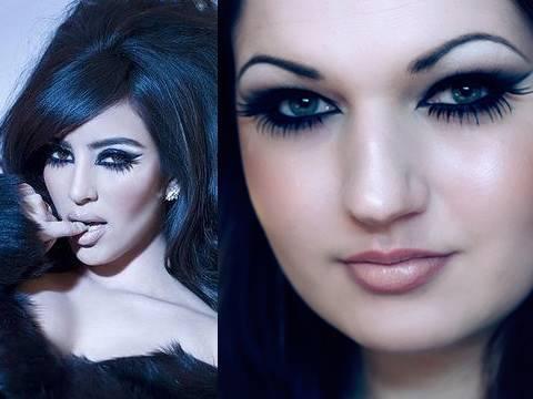 Kim Kardashian Cat Göz Makyajı - Mac Kozmetik
