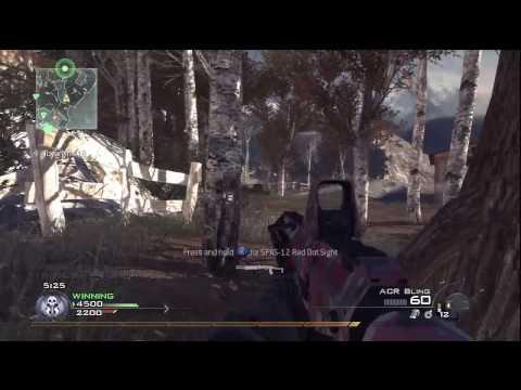 Call Of Duty: Modern Warfare 2 - Takım Deathmatch Emlak 23-8 (Hd)