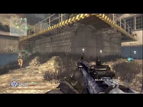 Call Of Duty: Modern Warfare 2 - Katliamı Scrapyard 23-4 (Hd)