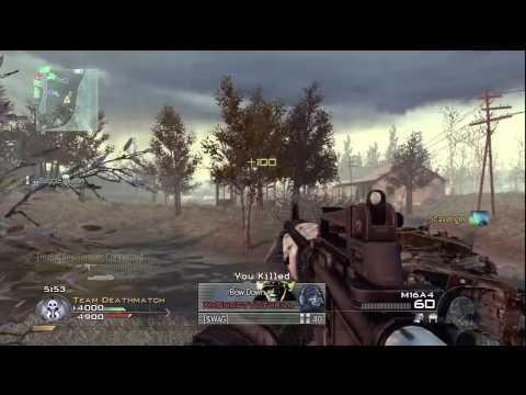 Görev Çağrısı: Modern Warfare 2 - Pwning N00Bs 20-6, Çorak (Hd)