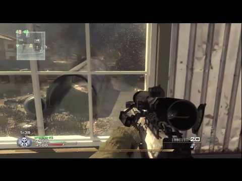 Call Of Duty: Modern Warfare 2 - Barrett .50Cal Oyun @ Scrapyard Yorumu (Hd) İle