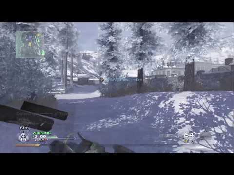 Call Of Duty: Modern Warfare 2 - Termal Kapsam 36-4 (Hd) İle Ateş Açılması