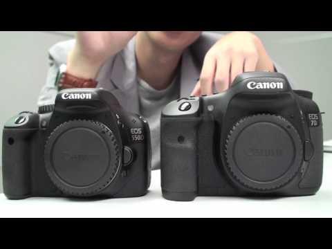 Canon Eos 550D Vs 7D - Baş Karşılaştırma