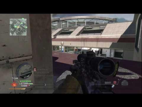 Call Of Duty: Modern Warfare 2 - Terminalde 16-4 (Hd) Ateş Açılması