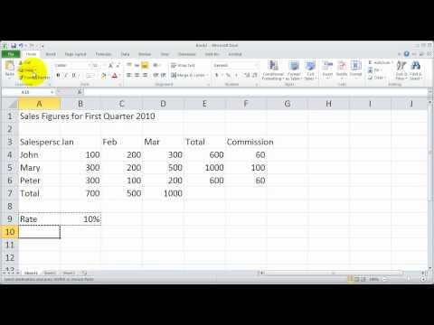 Bölüm 4 - Excel 2010 Temelleri