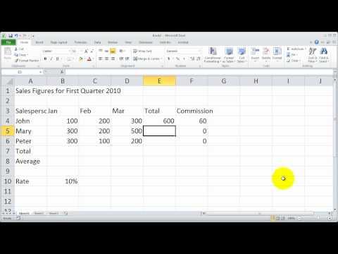 Bölüm 5 - Excel 2010 Temelleri