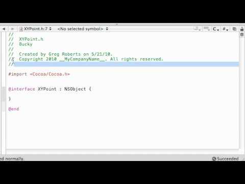 Amaç C Programlama Eğitimi - 34 - Point Sınıfını Oluşturma