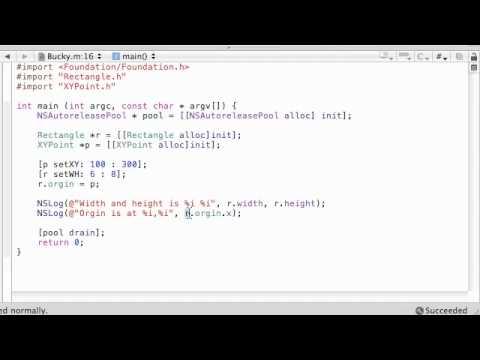 Yeni Noktası Programı Çalıştıran Amaç C Programlama Eğitimi - 36-