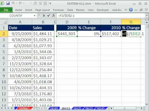 Excel Sihir Numarası 611: Yıl Satış Hesaplama Günlük İşlem Verilerinden Dizi Formül Yıl