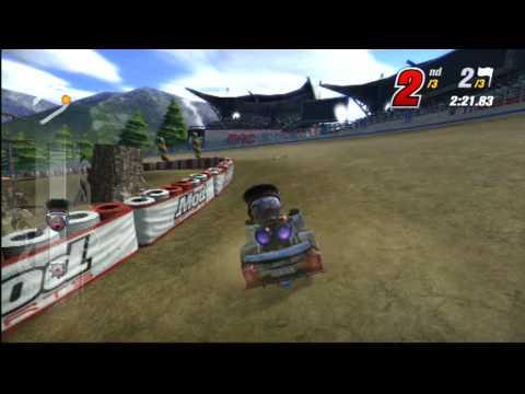 Modnation Yarışçılar Online Oyun 04-06-2010 Bölüm 23