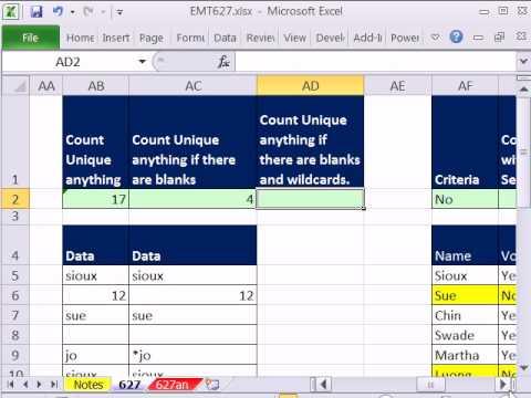 Excel Sihir Numarası 627: Frekans Dizi Çalışması (10 Örnekler)