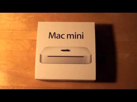 Apple Mac Mini Yekpare (Haziran 2010): Kutulama & Başlangıç