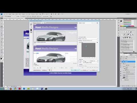 Photoshop Görüntü Dilim Ve Html Ve Css Web Sitesi Oluşturmak. (Bölüm 1)
