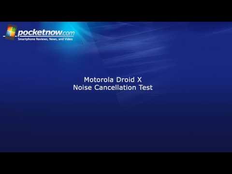 Droid X Gürültü İptal Test