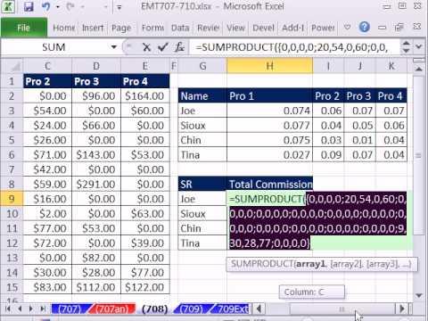 Excel Büyü Hüner 708: Arama Anlatım--Topla, Boolean Ve Dizin Maç Çözüm