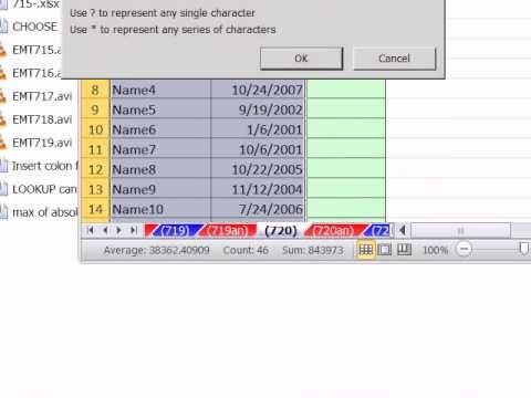 Excel Sihir Numarası 720: Göstermek 2 Tarihleri Arası Kayıtlar: Filtre, Mantıksal Formül, Koşullu Biçimlendirme