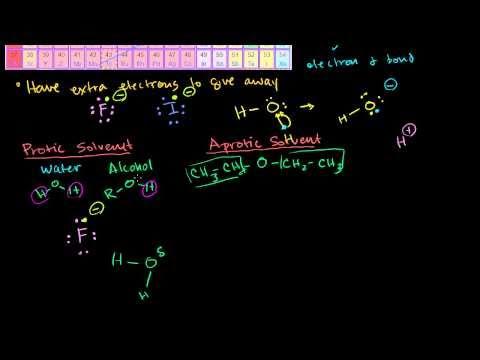 Nucleophilicity (Nucleophile Gücü)