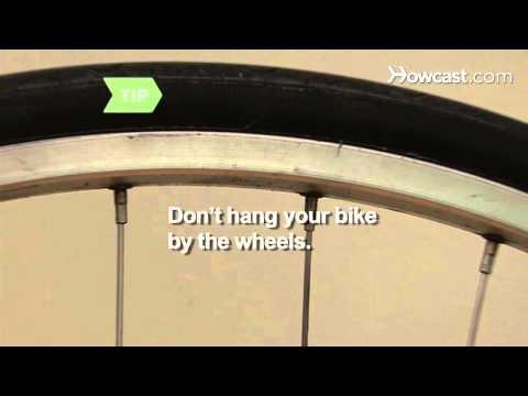 Nasıl Bisiklet Yaratıcı Bir Şekilde Depolamak İçin