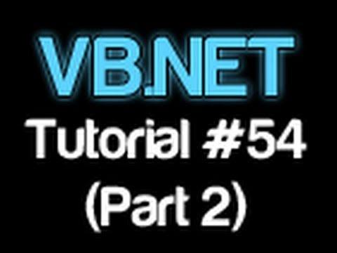 Vb.net Öğretici 54 - Regex (Bölüm 2) (Visual Basic 2008/2010)