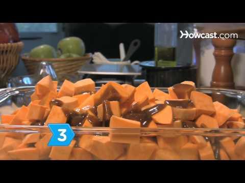 Nasıl Tatlı Patates Hatmi Güveç Yapmak