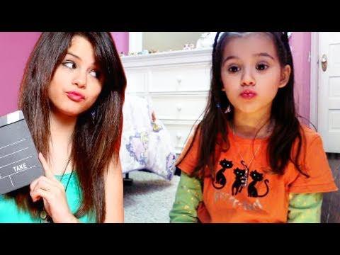 Alex Russo (Selena Gomez) Makyaj Eğitimi Çocuklar Ve Stil Rehberi Emma İçin