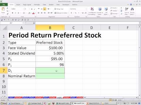 Excel Finans Sınıfını 93: Dönemi (Holding) İçin Tercih Edilen Stok Verir.