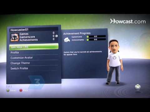 Nasıl Xbox 360 Diğer İnsanlarla Online Oynamak İçin