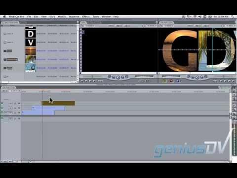 Pro Video İçinde Metin İle Sonda Gelen Kesmek