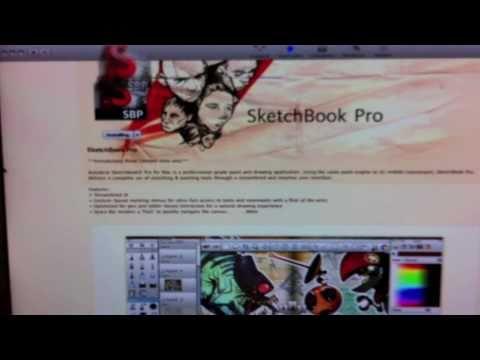 Sketchbook Pro Mac App Store Üzerinde