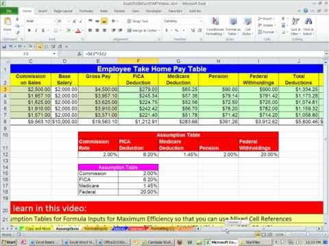 Office 2010 Sınıf #29: Yuvarla İşlevi Nasıl Excel Ve Hangi Durumlarda Kullanmalı.
