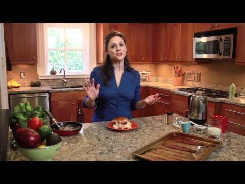 Gıda - Kur Pastırma, Yumurta Ve Peynir Kahvaltı Sandviç Ve Düşük Kalorili Kahve İçecek