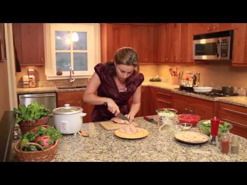 Gıda Kur - Tavuk Enchiladas Pirinç Ve Fasulye İle