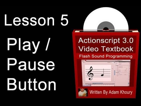 5. Actionscript 3.0 Ses Programlama Video Ders Kitabı: Flash Cs4 Cs5 Mp3 Rehberler
