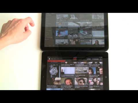 Motorola Xoom Vs Apple İpad 2 Karşılaştırma