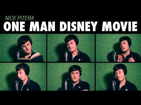 """bir Adam Disney Film"" Pitera - Disney Medley Nick."