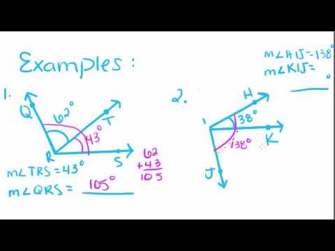 Geometri - 3 - Uyum Ve Ek Özellikler Açıların Giriş
