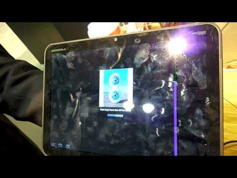 Motorola Xoom Oyunlar Ve Uygulamalar Demo