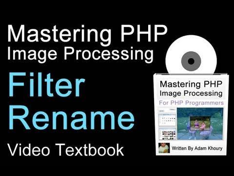 Jpg Gıf Png On The Fly Görüntü Filtresi Adı Yeniden Adlandırmak Öğretici Upload Php