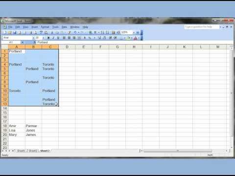 Excel Ve Word 2003 Q&a Programlar Test