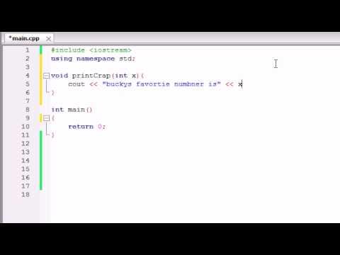 Buckys C++ Programlama Rehberler - 10 - Parametreler Kullanan İşlevler Oluşturma