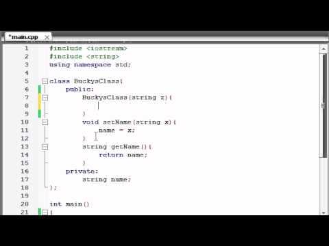 Buckys C++ Programlama Rehberler - 14 - Kurucular